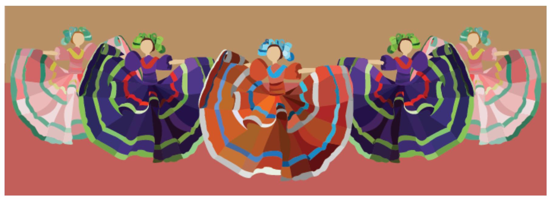 Cultural BAnner dancers